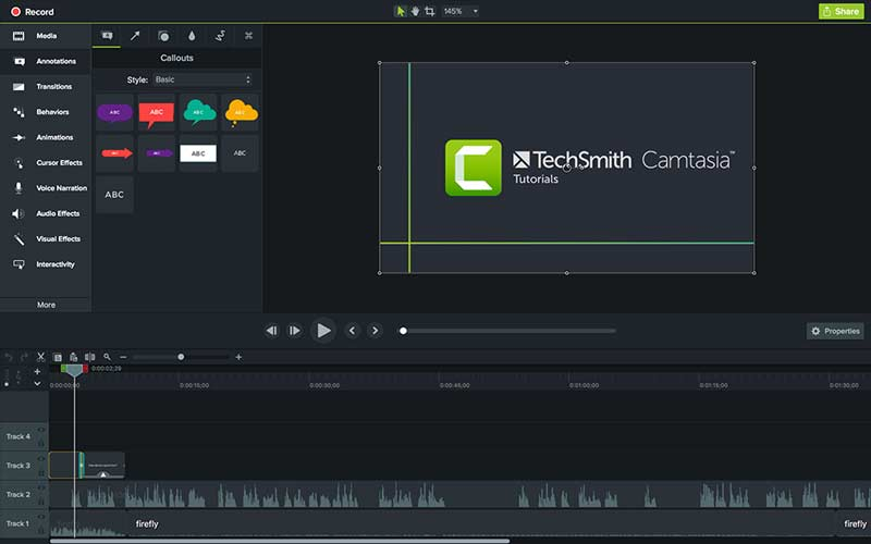 Screen Recorder Software Camtasia Studio 2018