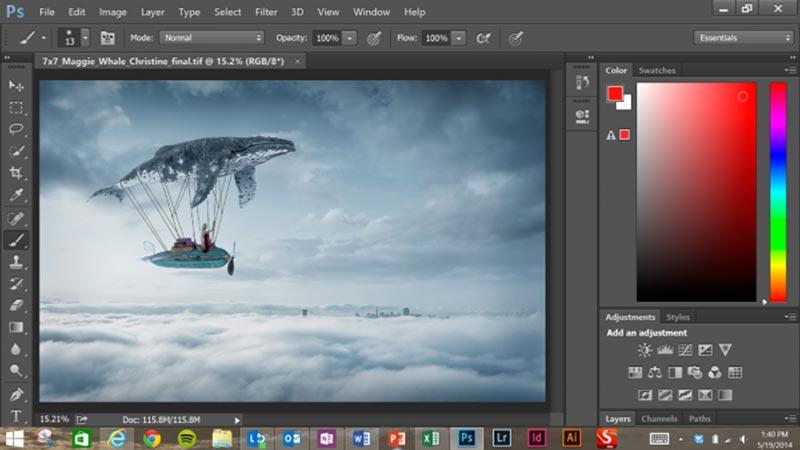 Adobe Photoshop CC 2014 Portable Final Free Download