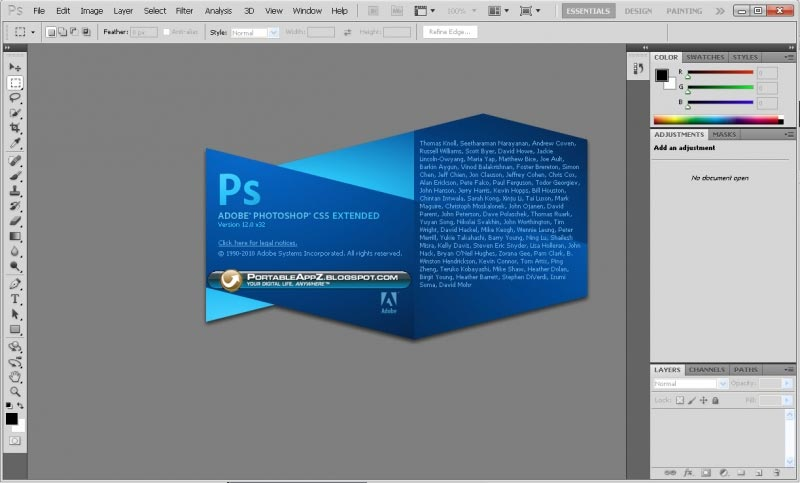 Adobe Photoshop Portable CS5 Terbaru Gratis