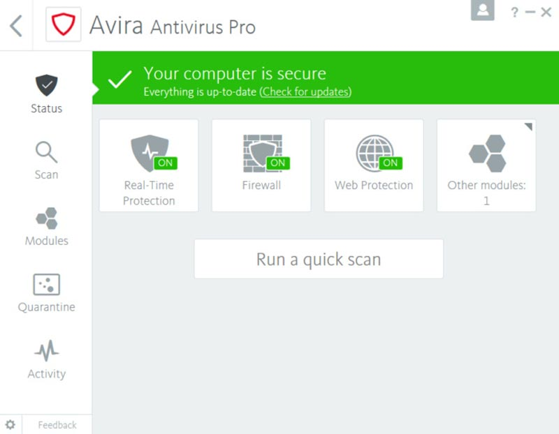 Free Download Avira Antivirus Pro 15 Final Terbaru Full Crack
