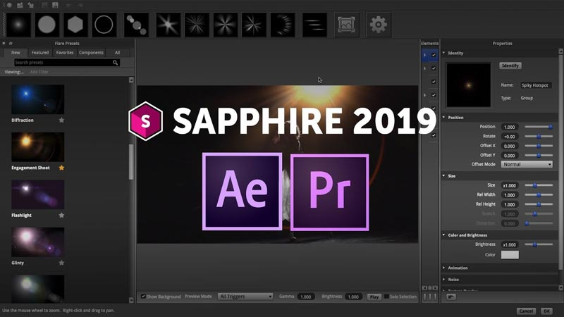 Free Download Boris FX Saphhire 2019 Final Full Version Crack
