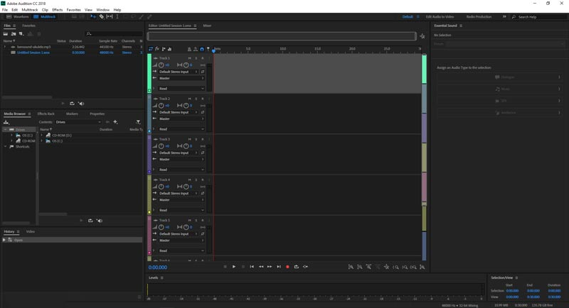 Free Download Adobe Audition CC 2018 Final Full Version Crack