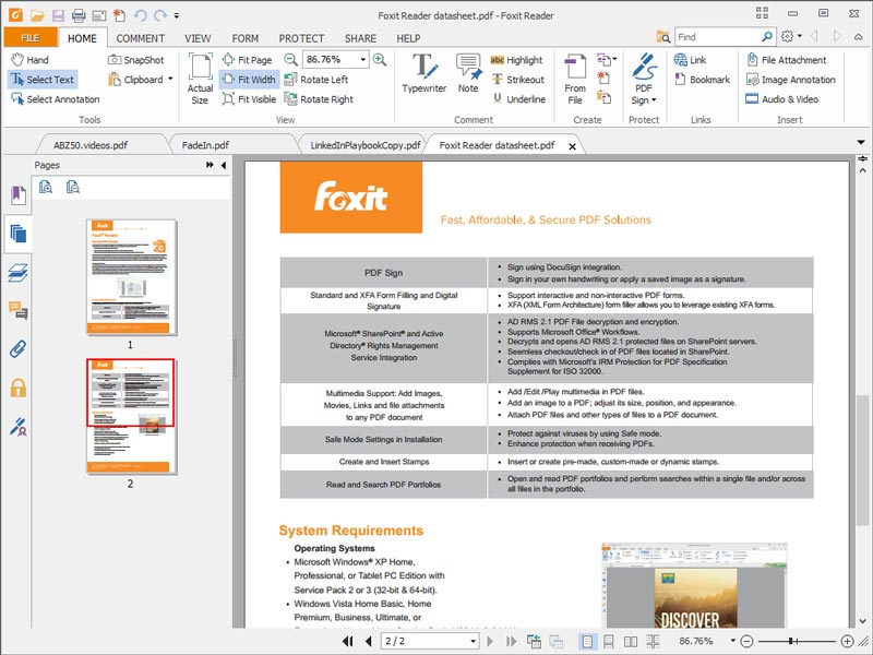 Foxit PDF Full Version Terbaru Gratis