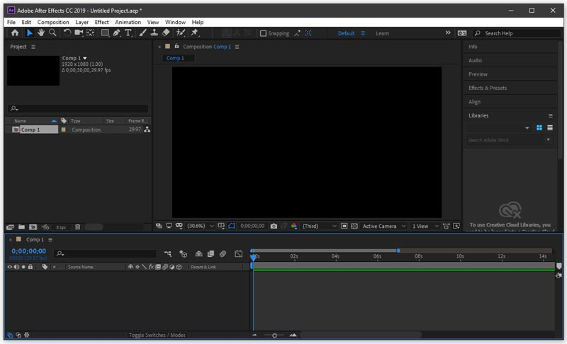 Download Adobe After Effects Portable CC 2019 Final Gratis