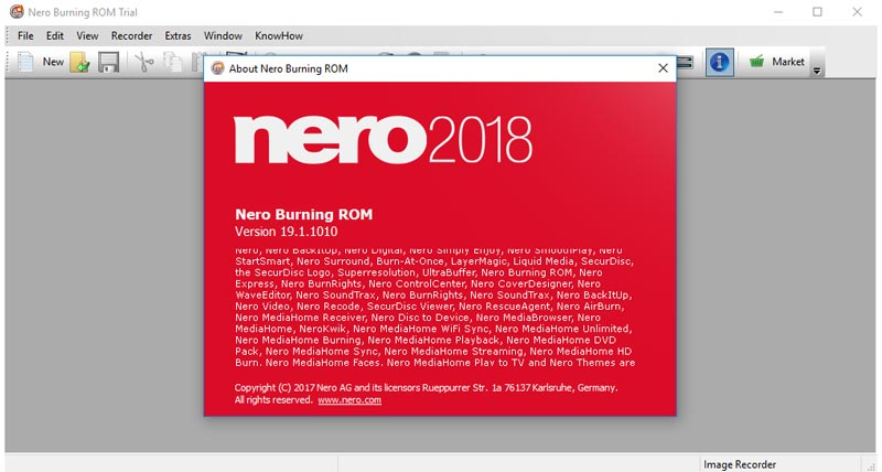 Nero 2018 Free Download
