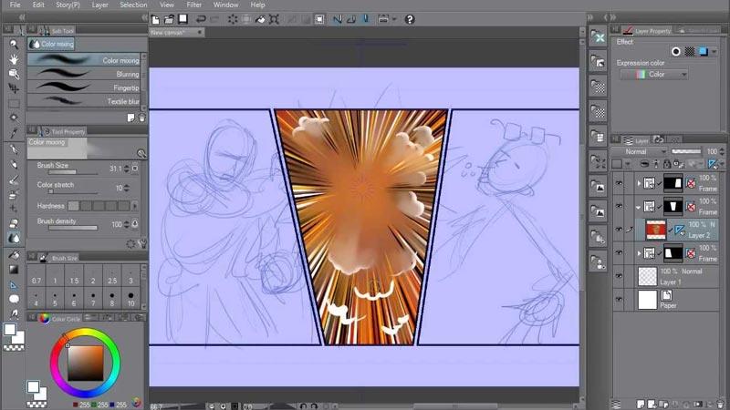 Clip Studio Paint EX Full Crack Gratis