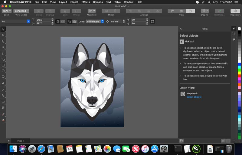 CorelDraw 2019 Mac Full Version Free Download