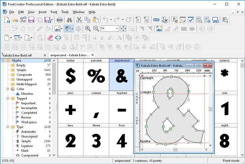 Download FontCreator Pro 12 Final Full Version Gratis