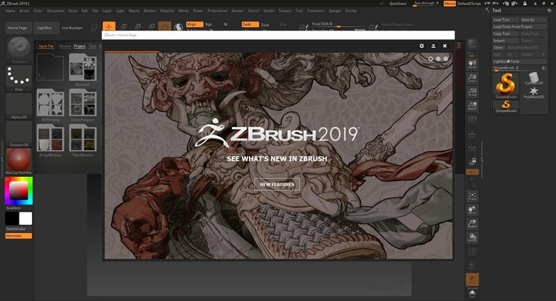 Pixologic Zbrush 2019 Full Version Gratis Download