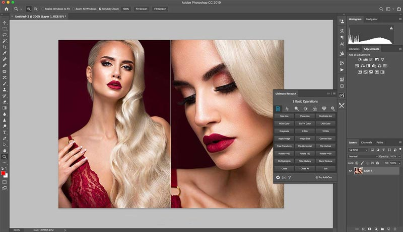 Free Download Ultimate Retouch Panel Terbaru Full Crack