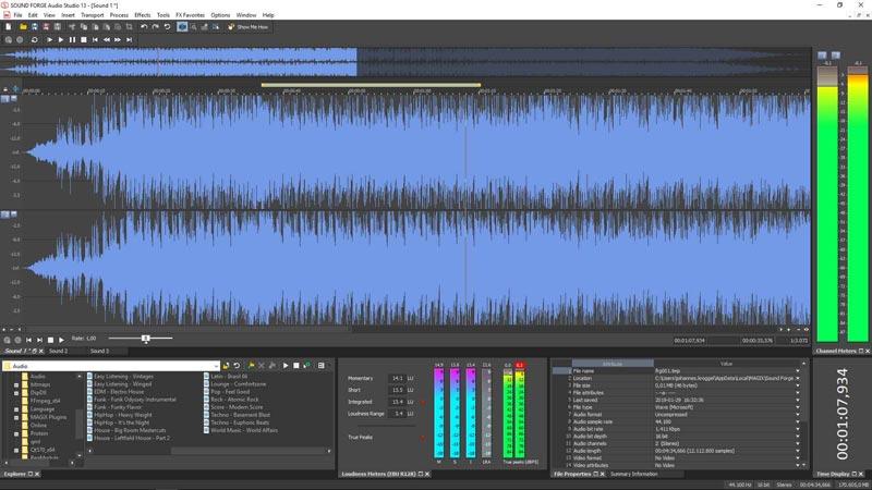 Sound Forge Audio Studio 13 Full Crack Terbaru