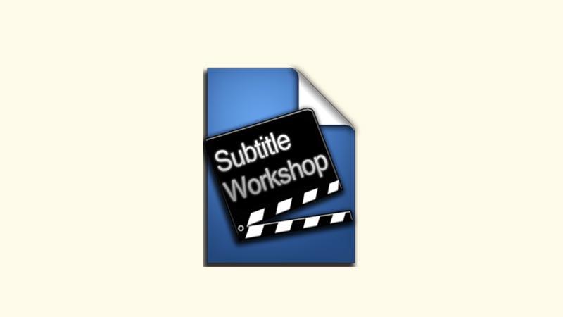 Download Subtitle Workshop 6 Full Version Gratis