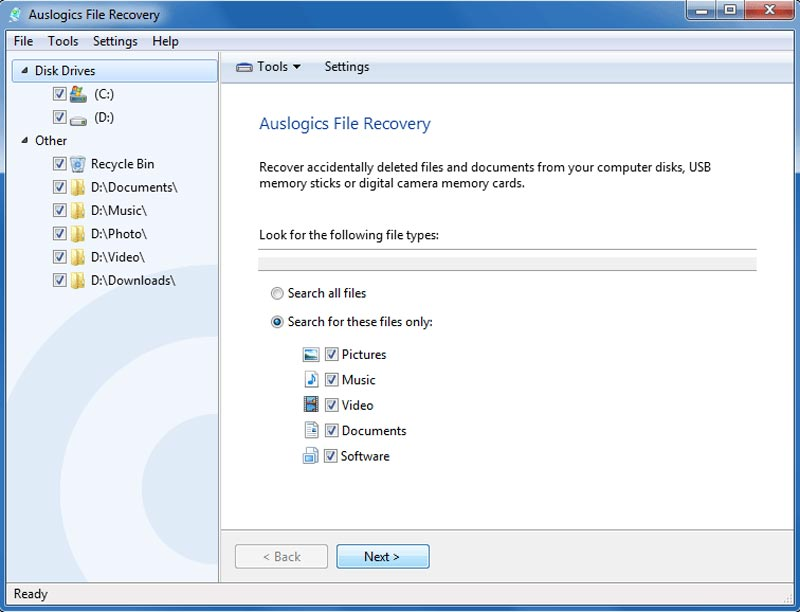 Auslogics File Recovery Full Crack Gratis