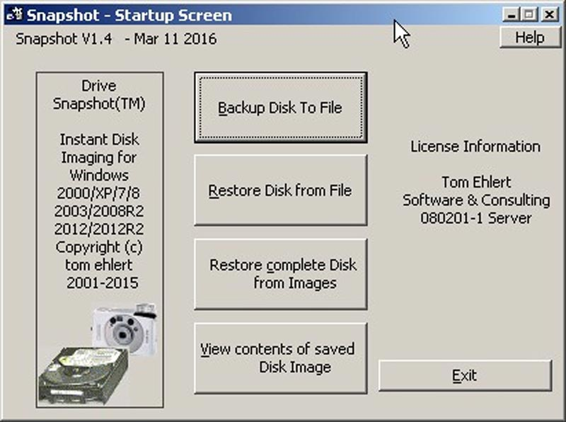 Download Drive SnapShot Full Crack