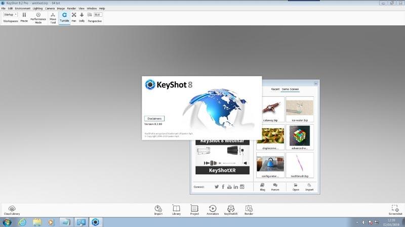 Luxion KeyShot Pro 8 Full Version Gratis
