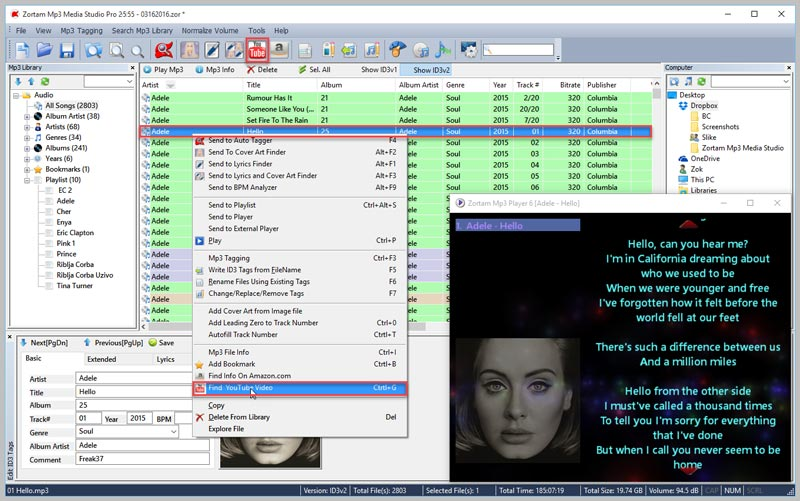 Zortam Mp3 Media Studio Pro 25 Full Version Gratis