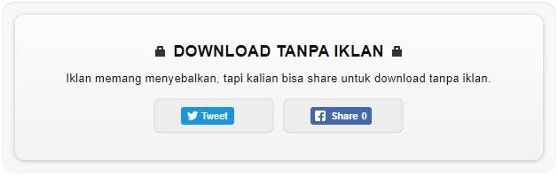 Download Tanpa Iklan