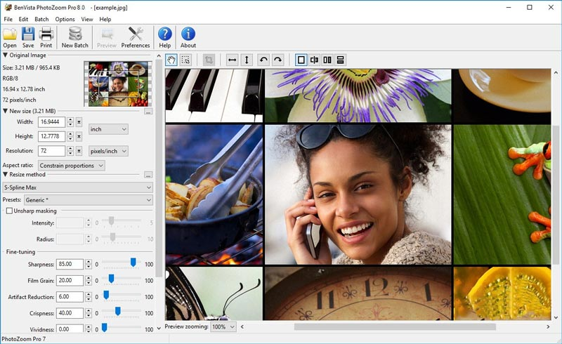Download Benvista PhotoZoom Pro Full Crack Gratis