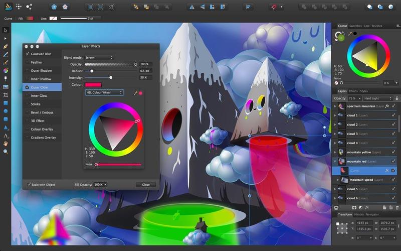 Serif Affinity Designer MacOS Full Version Free Download