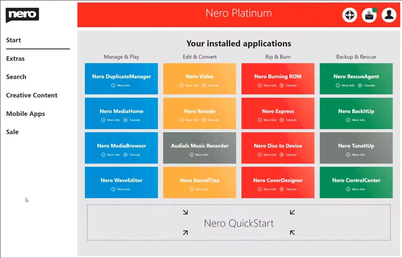 Free Download Nero 2020 Full Crack Platinum Final