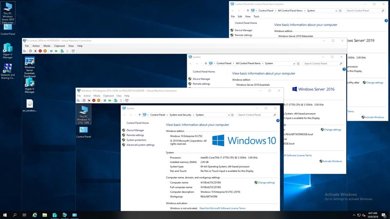 Free Download Windows 10 Enterprise RS5 Full Version Lite Edition