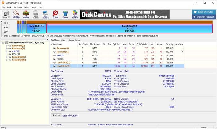 Free Download DiskGenius Pro Full Version Terbaru