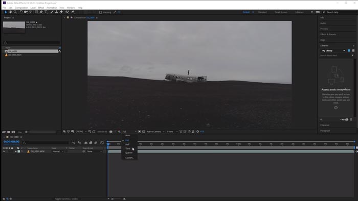 Adobe After Effects CS6 - Alpha and Luma Track Matte Modes (Tutorial by VOXLAB)