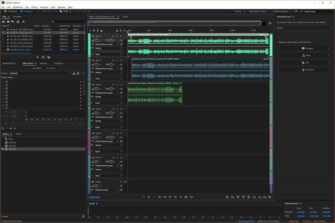 Free Download Adobe Audition CC 2020 Portable Terbaru v13
