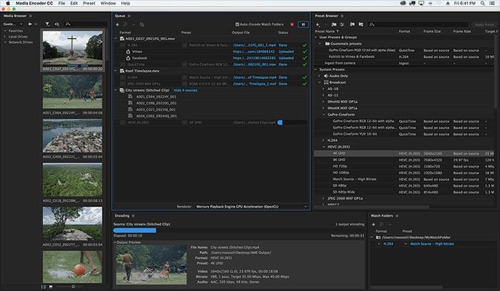 Adobe Media Encoder CC 2020 Mac Full Version Free Download Terbaru