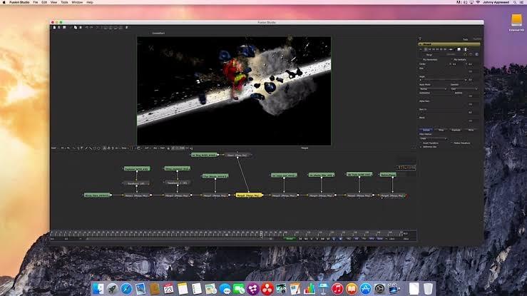 Free Download BlackMagic Fusion Mac Full Crack v9