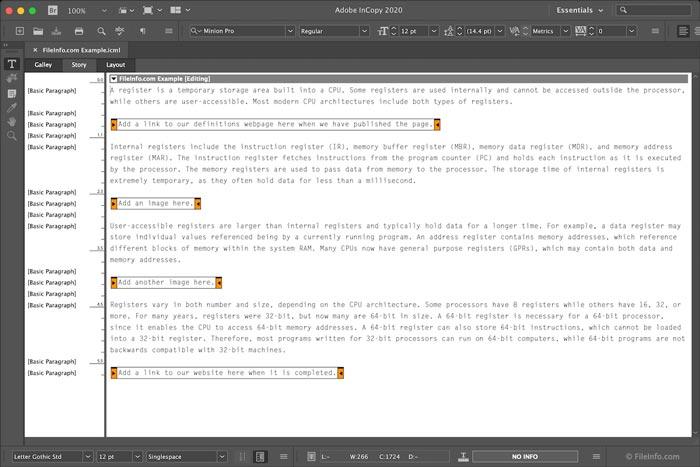 Free Download Adobe InCopy CC 2020 Mac Full Crack Catalina Terbaru