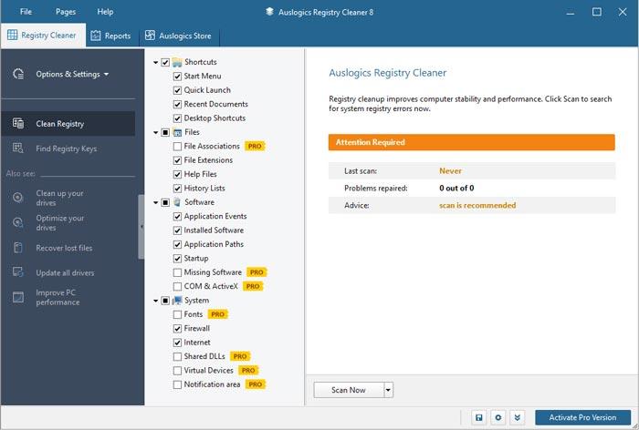 Free Download Auslogic Registry Cleaner Pro Full Crack Terbaru
