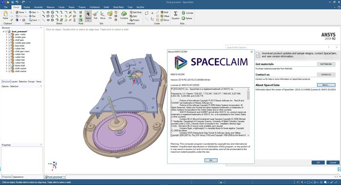 Free Download Ansys Spaceclaim 2019 R3 Full Crack Terbaru Windows 10