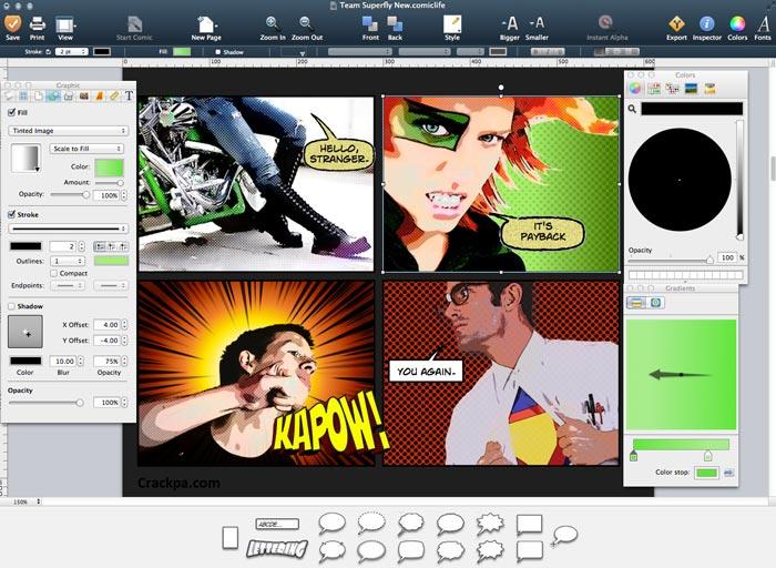Free Download Comic Life Full Crack v3.5 Windows PC