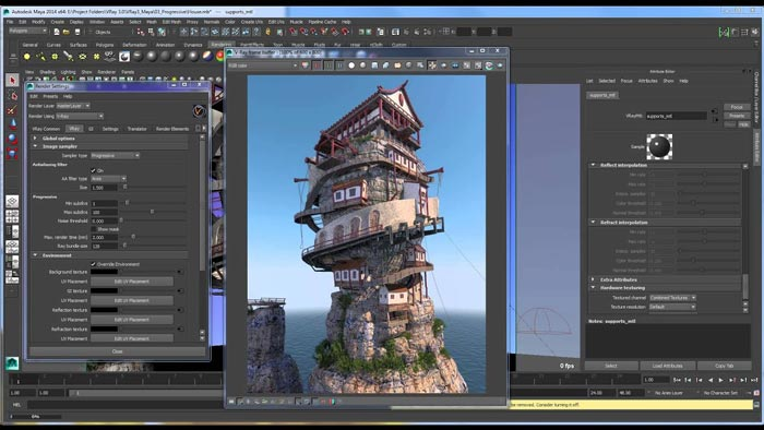 Free Download VRay Maya Full Crack 4.3 Terbaru