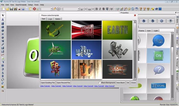 Free Download Aurora 3D Text Logo Maker Full Crack Terbaru Windows