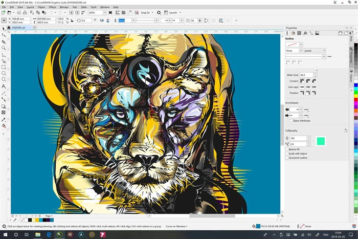 Free Download CorelDraw 2019 Portable Windows 10 PC