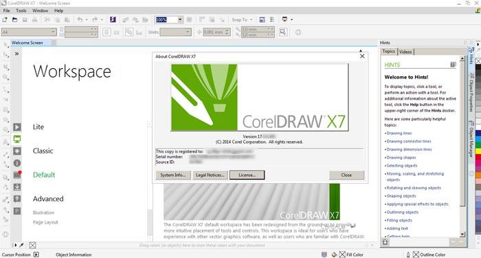 Download CorelDraw X7 Full Crack