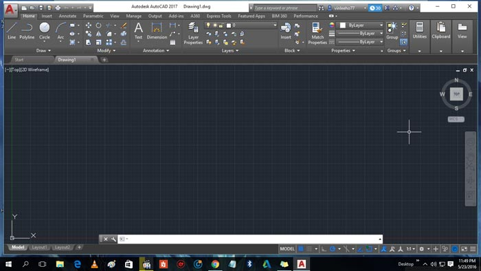 Free Download AutoCAD 2017 Full Crack Windows 10