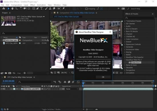 Free Download NewBlueFX TotalFX Full Crack For Adobe